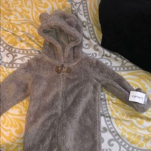 Caters winter bear suit